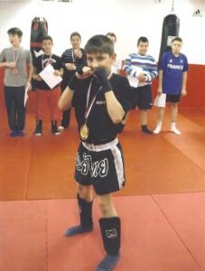 Boxe pour les enfants 42